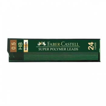 Mina Creion 0.5mm 24 Buc/Etui Super Hi-Polymer Faber-Castell