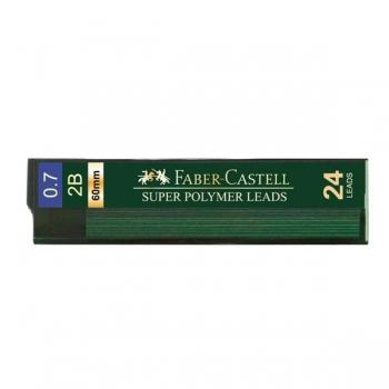 Mina Creion 0.7mm 24 Buc/Etui Super Hi-Polymer Faber-Castell