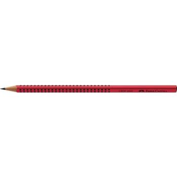 Creion Grafit B Grip 2001 Rosu Faber-Castell