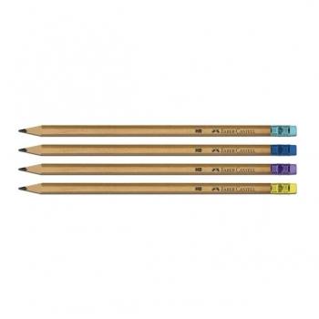 Creion Grafit HB Cu Guma Natur Faber-Castell