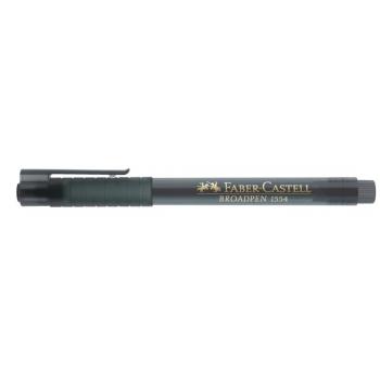 Liner 0.8mm Gri Broadpen 1544 Faber-Castell