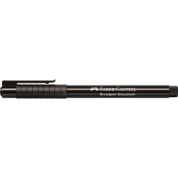 Liner 0.8mm Negru Broadpen 1544 Faber-Castell