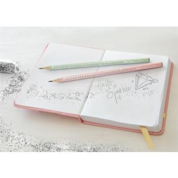 Creion Grafit B Sparkle Rose 2019 Faber-Castell