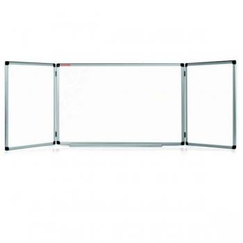 Whiteboard Triptic Rama Aluminiu Memoboards