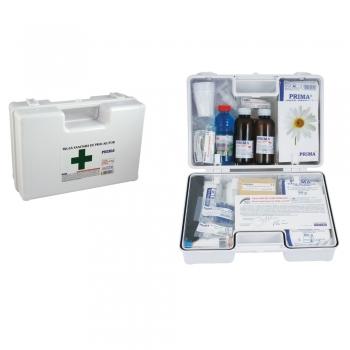Trusa sanitara de prim ajutor, portabila, cu maner