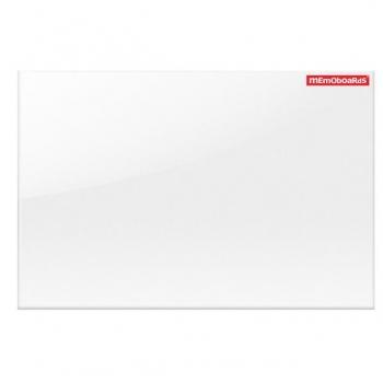 Tabla Magnetica Sticla Mata Pt Proiector 60x90Cm Alba Memoboards