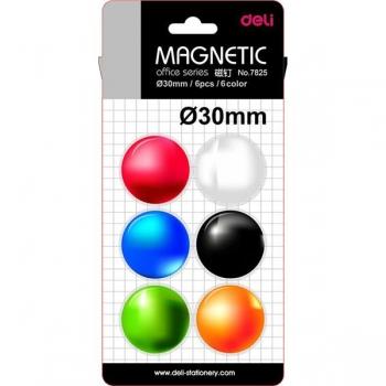 Magneti Whiteboard 30mm 6 Buc/Set Deli