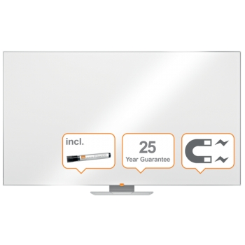 Whiteboard Magnetic Otel Emailat Widescreen Prestige Nobo