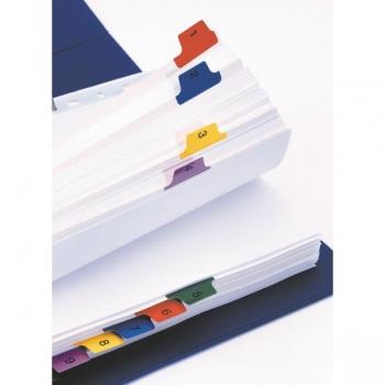 Separatoare Index Carton Mylar Esselte