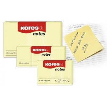 Notes Adeziv Galben Pal 100 File Kores