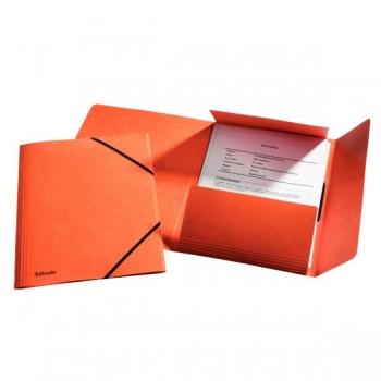 Mapa Carton Cu Elastic Lux Esselte