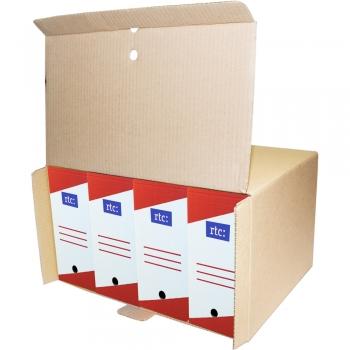 Container arhivare RTC, mare, 5 bucati/set