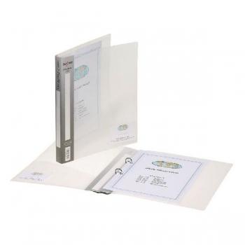 Caiet Mecanic A4 2 Inele 25mm Coperti Flexibile Transparent Executive Snopake