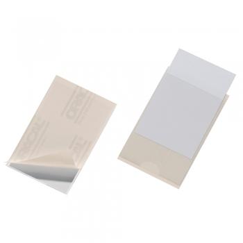 Buzunare Durable Pocketfix, autoadezive,  62 x 93 mm, 10 bucati/set.