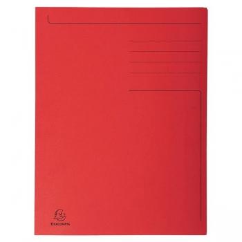 Dosar Carton Plic Rosu Exacompta