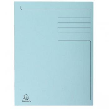 Dosar Carton Plic Albastru Exacompta