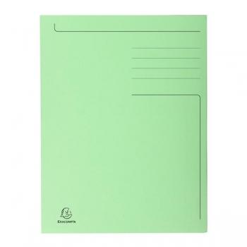 Dosar Carton Plic Verde Exacompta