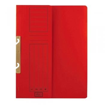 Dosar de incopciat 1/2 RTC, carton, 250 g/mp, rosu,  10 bucati/set