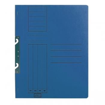 Dosar de incopciat 1/1 RTC, carton, 250 g/mp, albastru, 10 bucati/set