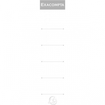 Etichete Biblioraft 5cm 10/Set Exacompta
