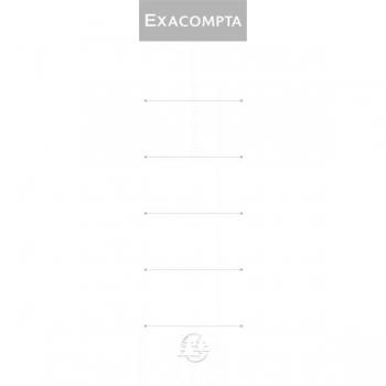 Etichete Biblioraft 7.5cm 10/Set Exacompta
