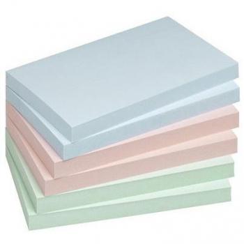 Notes Adeziv 75x125mm Pastel Asortat 100 File Info Notes