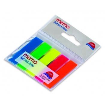 Index Adeziv Plastic 12x45mm Set 5 Culori Noki