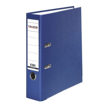 Biblioraft Falken plastifiat, 50 mm, albastru