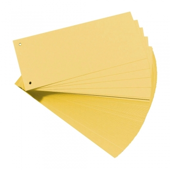 Separatoare Falken, color,  105 x 240 mm, galben