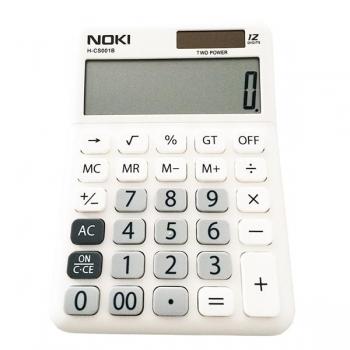 Calculator Birou 12Digiti HCS001 Alb Noki