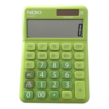 Calculator Birou 12Digiti HCS001 Verde Noki