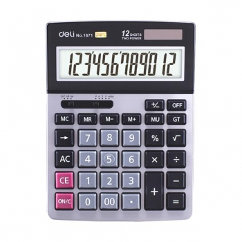 Calculator Birou 12Dig 1671 Deli