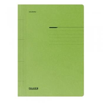 Dosar cu sina Lux Falken, carton, 250 g/mp, verde