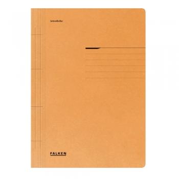 Dosar cu sina Lux Falken, carton, 250 g/mp, portocaliu