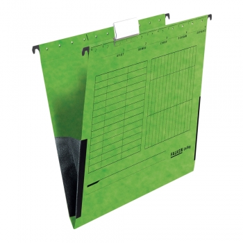 Dosar plic Falken, verde, 25 bucati/cutie