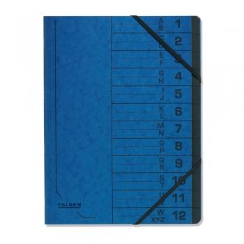 Mapa pentru corespondenta Falken, carton, albastru