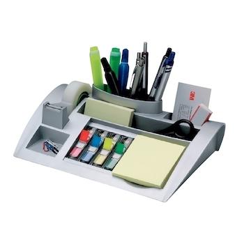 Suport pentru accesorii de birou 3M C50, echipat, argintiu