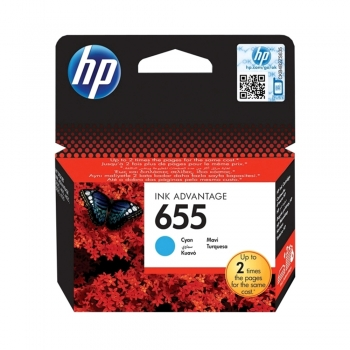 Cartus cu cerneala original HP CN626AE, 6600 pagini, cyan