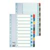 Index IAN-DEC, Esselte, Mylar, carton cu taste laminate, A4, multicolor