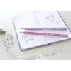 Creion Grafit B Sparkle Roz Inchis 2019 Faber-Castell