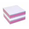 Notes Adeziv 75x75mm Roz-Violet- Alb 450 File Info Notes